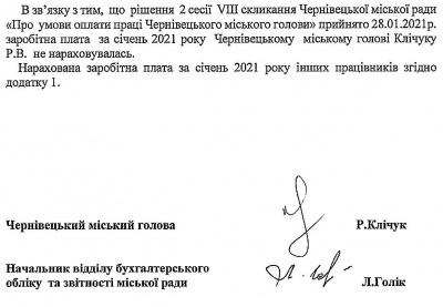 Мер Чернівців у січні залишився без зарплати: назвали причину