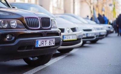 В Україні продовжують скасовувати штрафи за «євробляхи»
