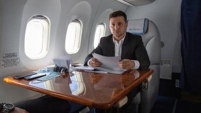 Українці заплатили зі своїх податків 22 млн грн за польоти Зеленського