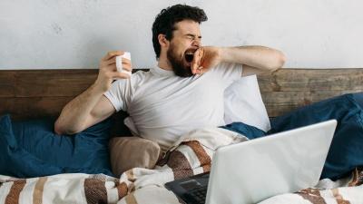 Анекдот дня: про позіхання
