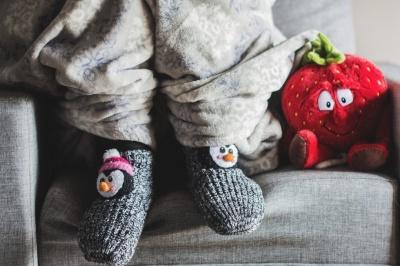 Виявляється, спати в шкарпетках шкідливо для здоров'я