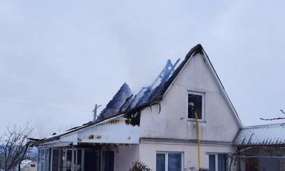 На Буковині через «неправильний» димар горів будинок