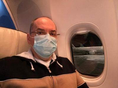 Степанов полетів до Індії домовлятися про вакцини