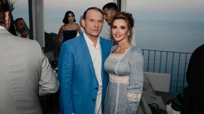 РНБО ввела санкції проти Медведчука та його дружини
