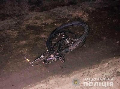 Смертельна ДТП під Чернівцями: водій легковика посеред ночі збив велосипедиста