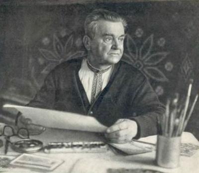 Сьогодні – 120 років від дня народження буковинського художника-орнаменталіста Георгія Гараса