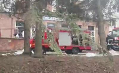 У Чернівцях у «ковідній» лікарні сталася пожежа, загинула одна людина