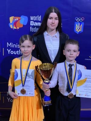 Юні танцівники з Буковини вибороли на кубку України відразу дві перемоги - фото