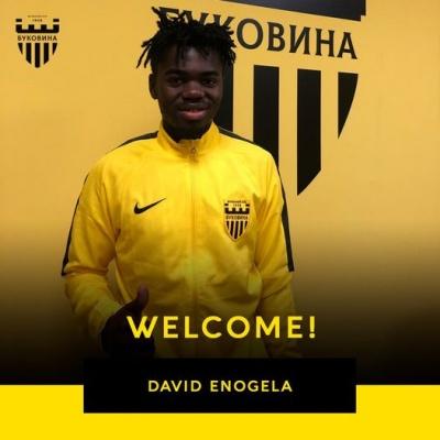 У ФК «Буковина» вперше з'явився гравець із Нігерії