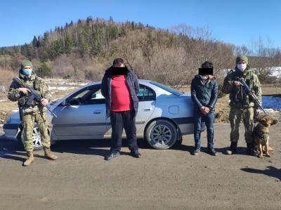 На Буковині прикордонники затримали чоловіка, який намагався потрапити до ЄС
