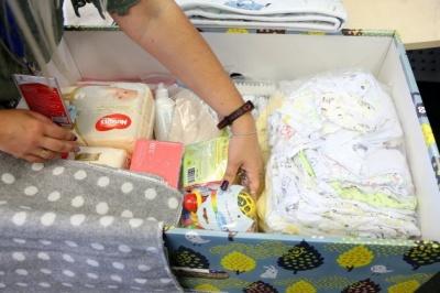 «Пакунок малюка» цьогоріч отримали понад 200 буковинських сімей