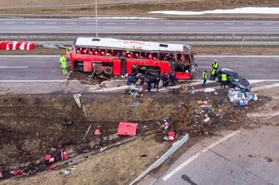 «Це було пекло»: очевидці смертельної ДТП у Польщі розповіли про побачене на місці трагедії