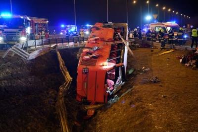 Аварія українського автобуса в Польщі: частина постраждалих ще у лікарнях