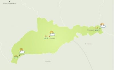 На Буковині потепліло: якою буде погода сьогодні в області