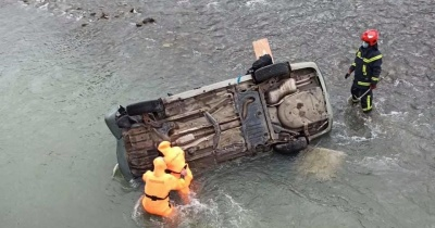 У Львівській області авто упало у річку: одна людина загинула, ще 2 — травмовані