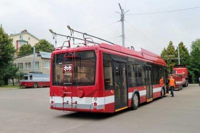 В Івано-Франківську через «червону» зону припинять курсувати тролейбуси