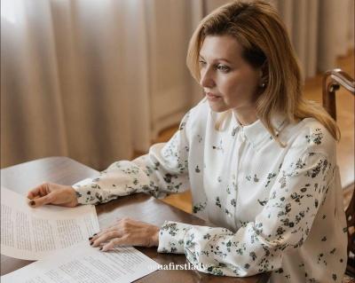 Перша леді Зеленська зачарувала шанувальників стильним вбранням