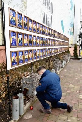 Віддав своє життя за свободу: у Чернівцях вшанували Героя Небесної Сотні