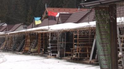 «Це був повний цирк»: як реагували туристи на закриття курорту «Буковель» - відео
