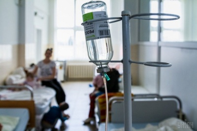 У лікарнях Буковини через коронавірус перебувають 1384 хворих