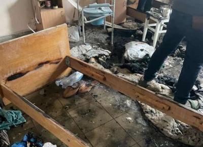 Вибух у лікарні Чернівців: ремонт вигорілої палати триває