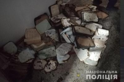 Пожежа в архіві Чернівців: поліцейські встановлюють причини загорання