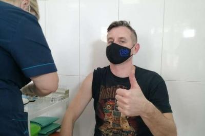Сергій Жадан зробив щеплення від коронавірусу
