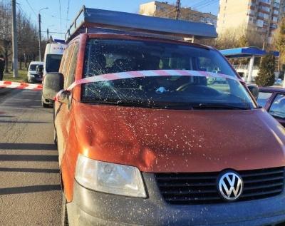 ДТП із потерпілим у Чернівцях: у поліції розповіли деталі