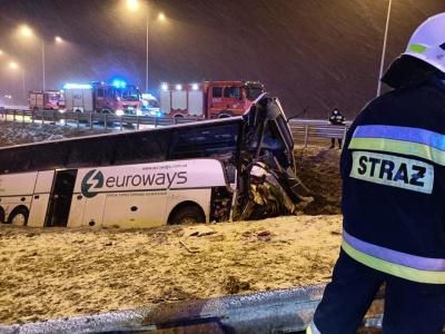 Смертельна ДТП у Польщі: в автокатастрофу потрапив автобус «Вроцлав-Чернівці»
