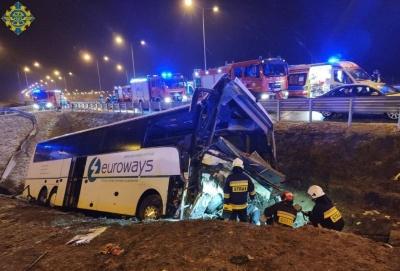 Трагічна ДТП у Польщі: травмувались дві буковинки, одна з них – у критичному стані