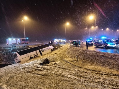 У трагічній ДТП в Польщі загинув водій автобуса з Буковини – ЗМІ