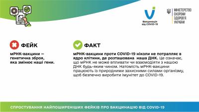 У МОЗ розвінчали фейк щодо вакцин проти COVID-19