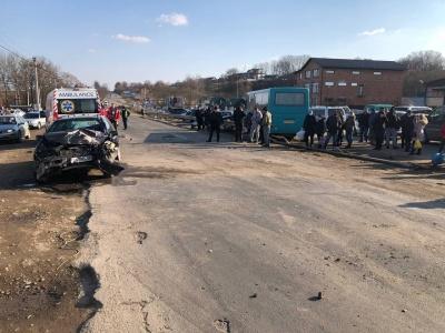 ДТП у Коровії: у водія легковика підтвердили сильне алкогольне сп'яніння