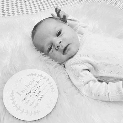 Хіларі Дафф замилувала мережу фото новонародженої доньки