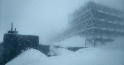 Зима повернулася: за ніч у Карпатах випало 15 сантиметрів снігу