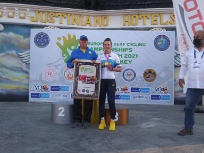 Буковинка стала чемпіонкою Європи з велоспорту