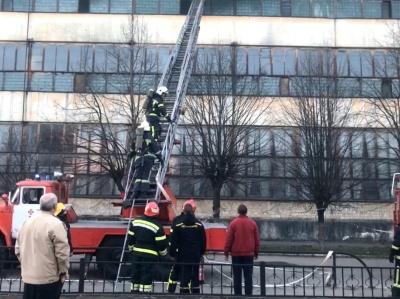 Пожежа в Чернівцях на «Розмі»: рятувальники ліквідовують вогонь – наживо