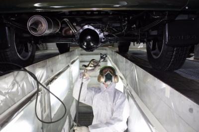 Самостійна антикорозійна обробка днища автомобіля*