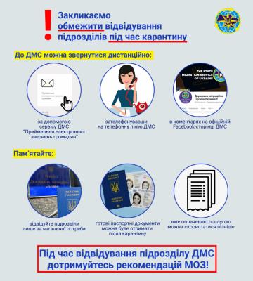 Вперед за паспортами: міграційна служба Буковини відновлює прийом громадян