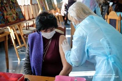 Близько сотні працівників ЧНУ вакцинували від COVID-19