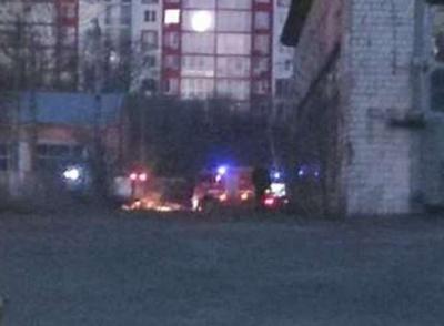 У Чернівцях на території колишнього тролейбусного депо сталася пожежа