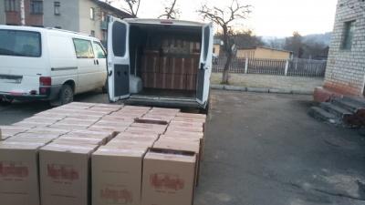 На Буковині виявили контрабандних цигарок на понад мільйон гривень