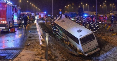 Всіх постраждалих у ДТП в Польщі з автобусом «Вроцлав-Чернівці» виписали з лікарні
