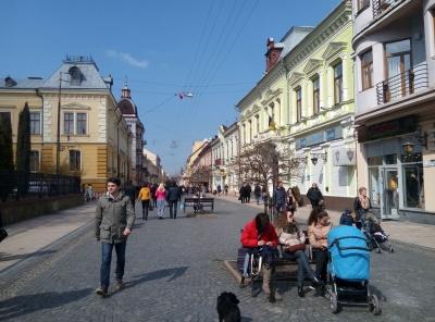 От вам і європейське місто. Блог Юлії Леськової