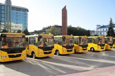 На Буковині побільшає шкільних автобусів