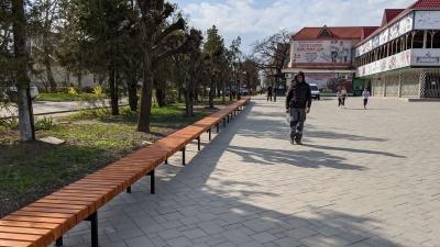 На Буковині встановили найдовшу в області лавицю - фото