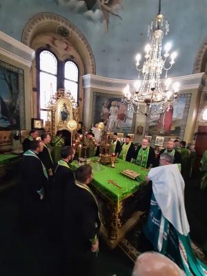 У деяких храмах Буковини вже освятили вербу – фото