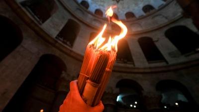 «Можливо, не в той час»: митрополит Епіфаній розповів, як в Україну доставлять Благодатний вогонь