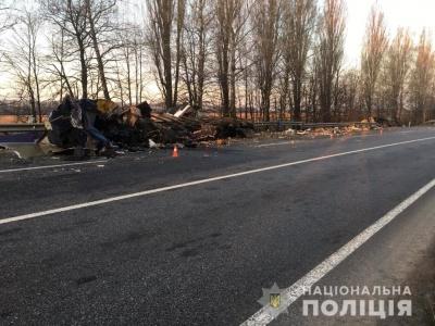 На Вінниччині у моторошній ДТП загинув водій вантажівки з Буковини