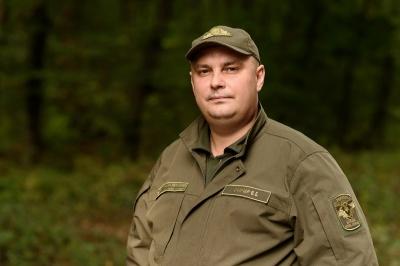 Привітання з Великоднем начальника Чернівецького обласного управління лісового та мисливського господарства Василя Гончара*